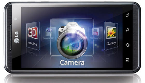 LG Optimus 3D preview