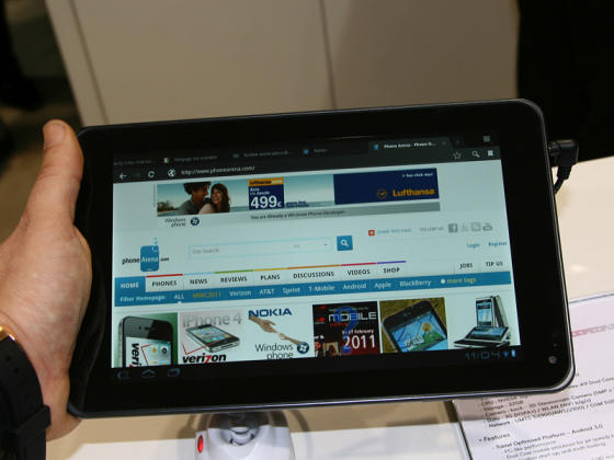 LG Optimus Pad preview