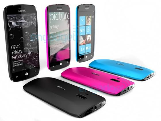 Nokia Windows Phone 7 devices