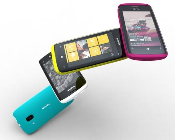Nokia Windows Phone 7 concept