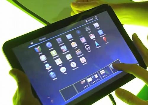Google Android Honeycomb demo
