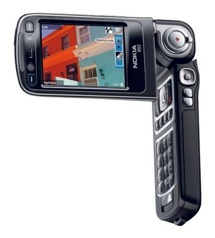 Nokia N93 cameraphone