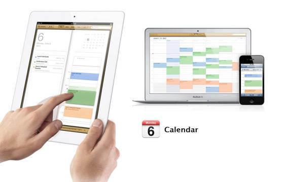 Apple iCloud sharing calendars
