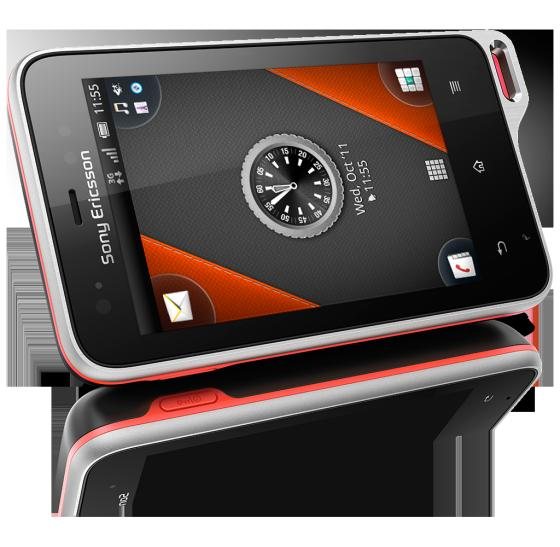 Sony Ericsson Xperia Active - a waterproof Android phone