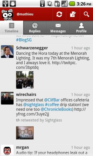 Seesmic Twitter app for Android