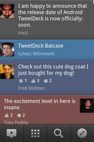TweetDeck Twitter app for Android