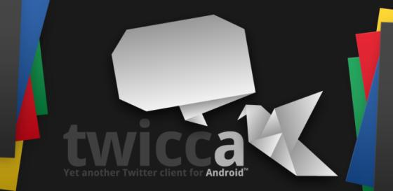 Twicca Twitter app for Android
