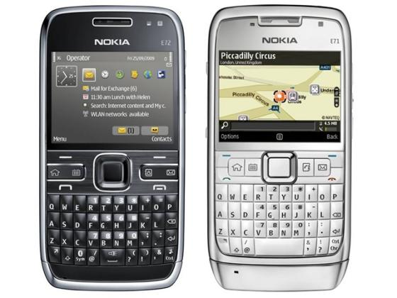 Nokia E6 QWERTY phone