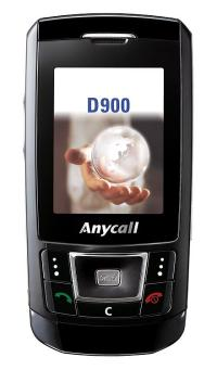 Samsung D900 Black Carbon mobile phone
