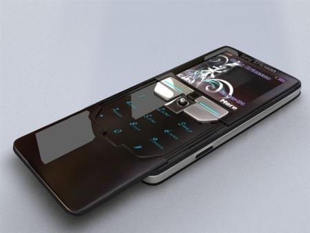 Sony Ericsson concept phone slider open