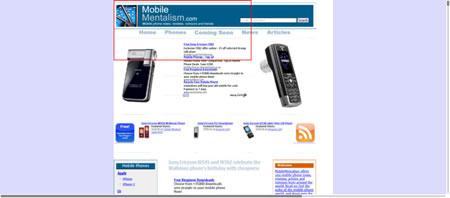 Nokia E90 and the mobile Web