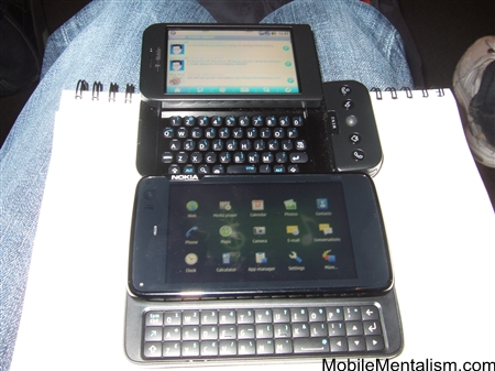 Nokia N900 and T-Mobile G1 compared