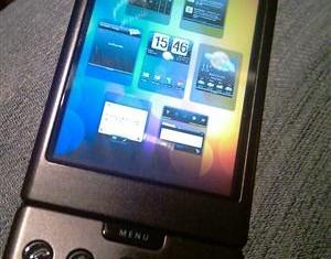 HTC Legend running on G1