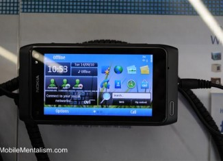 Nokia N8 Symbian^3 user interface