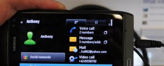 Nokia N8 Symbian^3 user interface